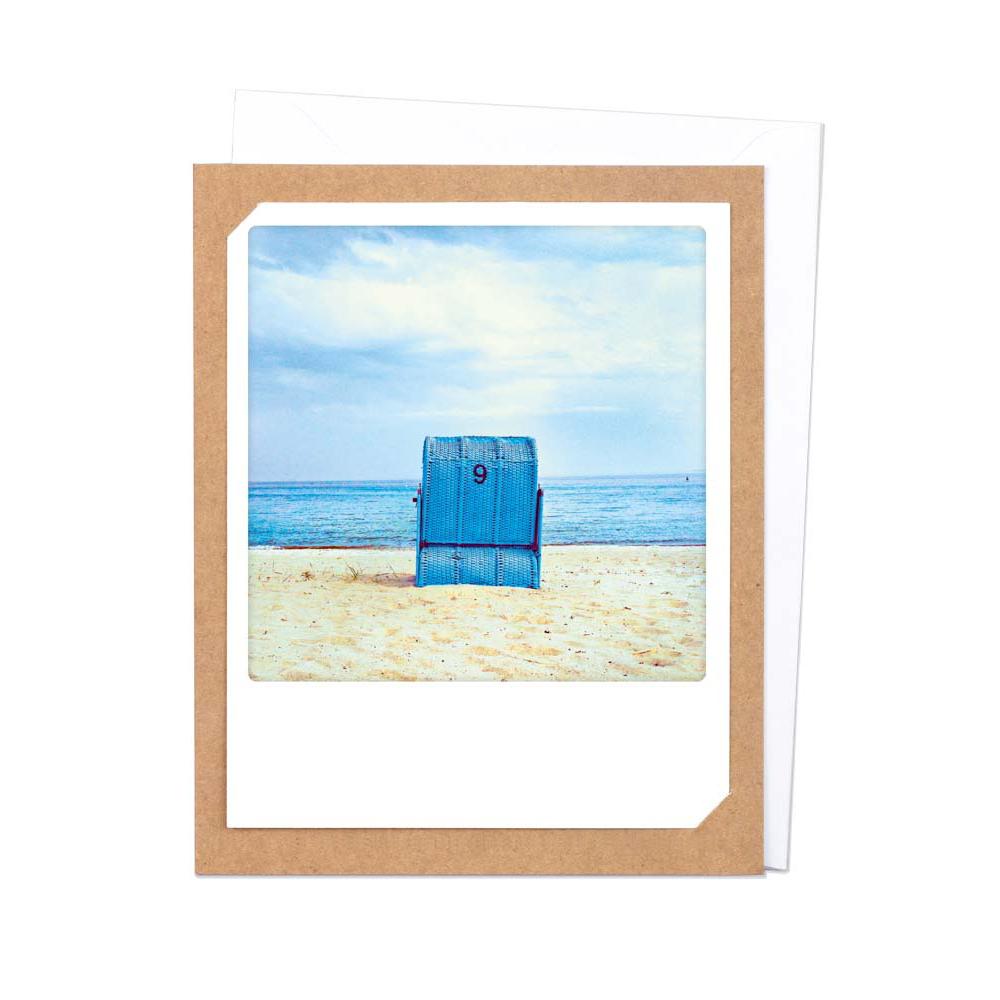 "Photo-Klappkarte ""Blauer Traum"" - SP-0140-KK - Pickmotion"