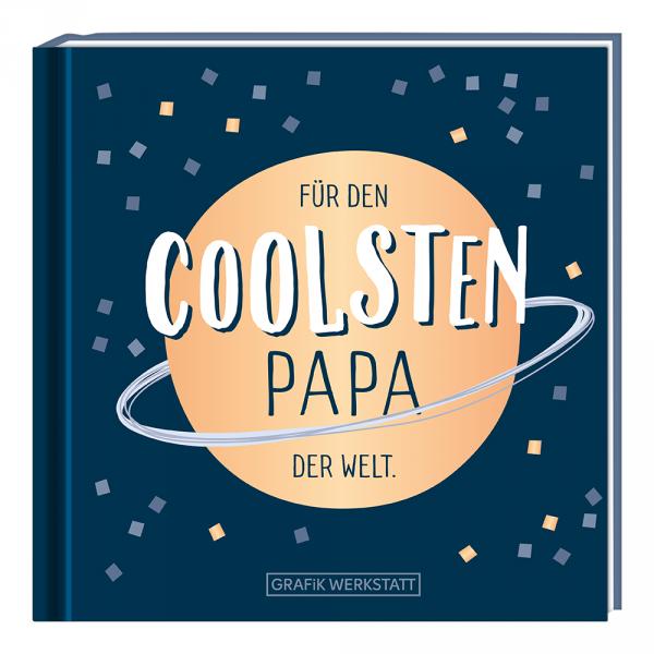 Mini-Geschenkbuch - Für den coolsten Papa ... - Grafik Werkstatt