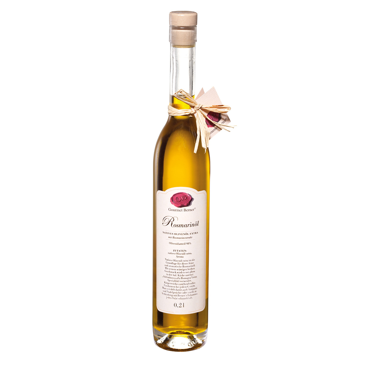 Rosmarin-Öl -0,2l - Gourmet Berner