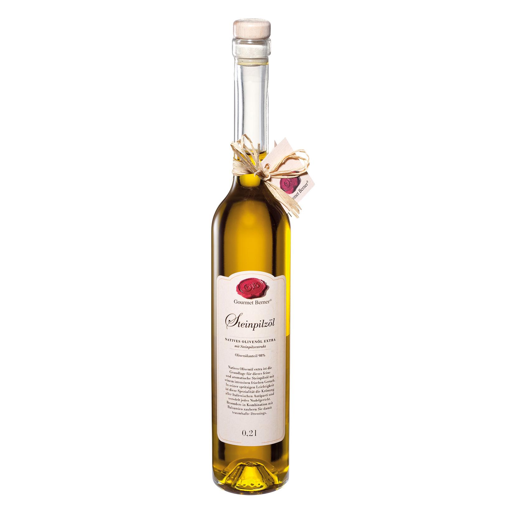 Steinpilz-Öl - 0,2l - Gourmet Berner