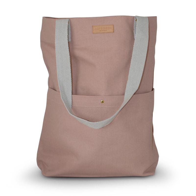 Einkaufstasche - Canvas Design Mano Mauve - Aspegren