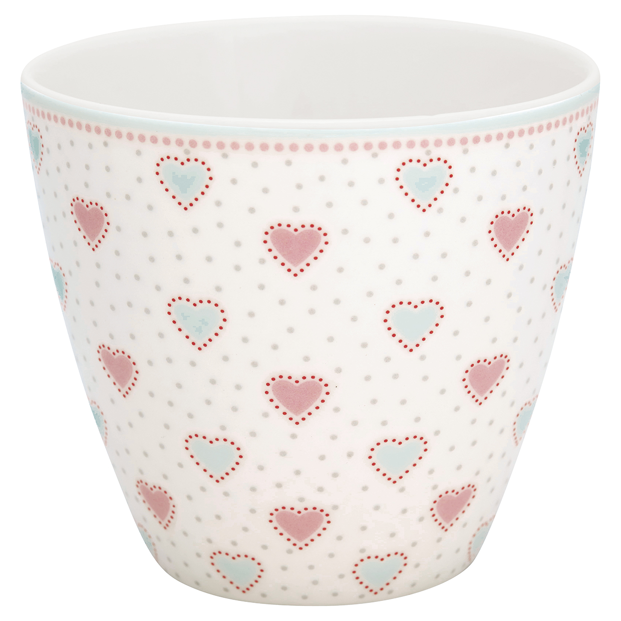 Latte Cup - Penny white - Greengate