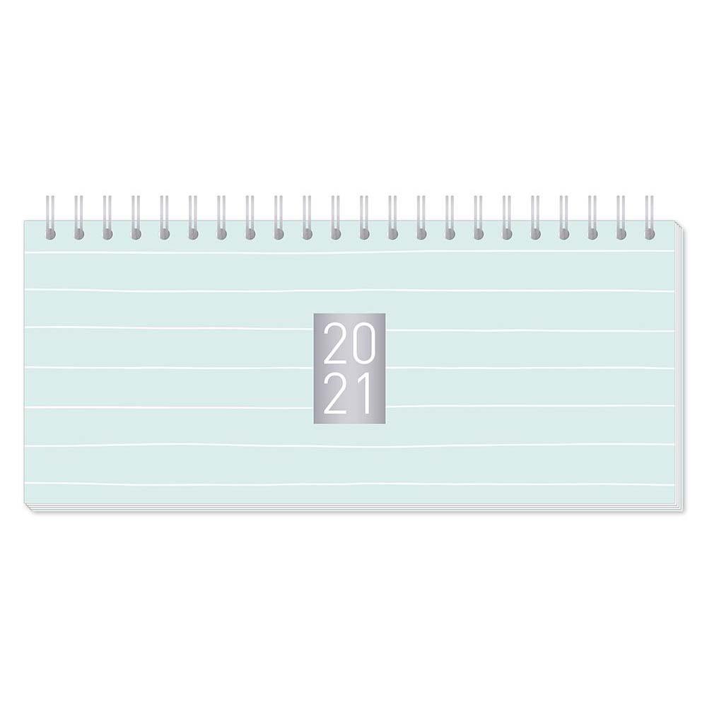 Premium Wochenplaner mit Kalendarium - Mint- Grafik Werkstatt
