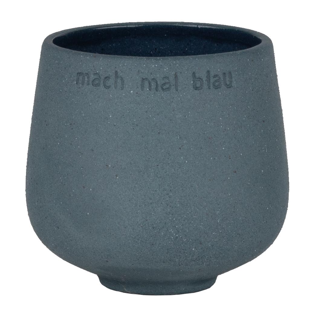 """Vase Blumenfreund """"Mach mal blau"""" - räder"""