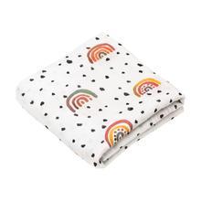 Mulltuch 2er Set - Regenbogen Cotton - hutch&putch