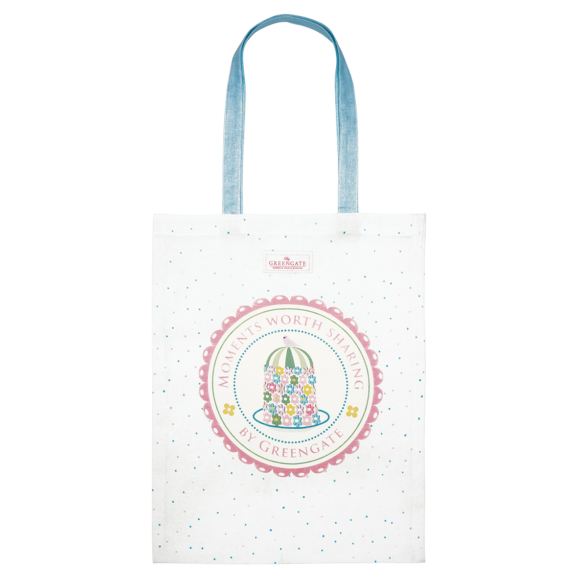 Tasche - Bag cotton - Tenna white - Greengate