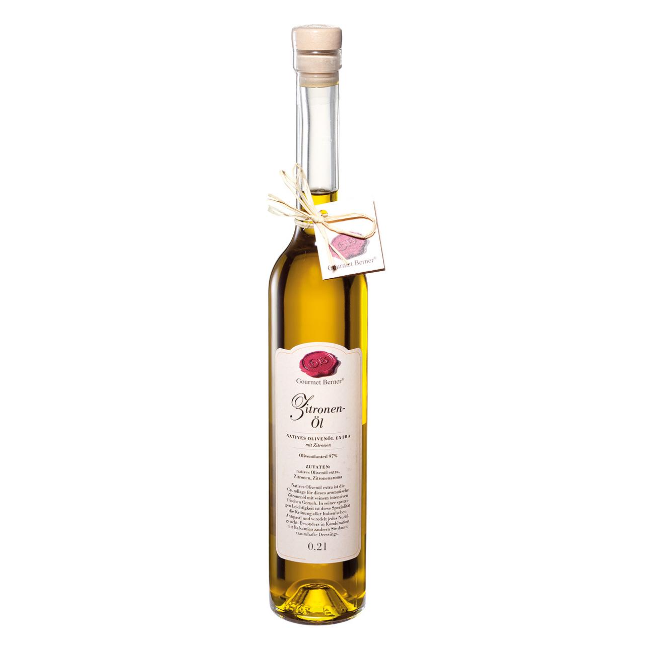 Zitronen-Öl - 0,2l - Gourmet Berner