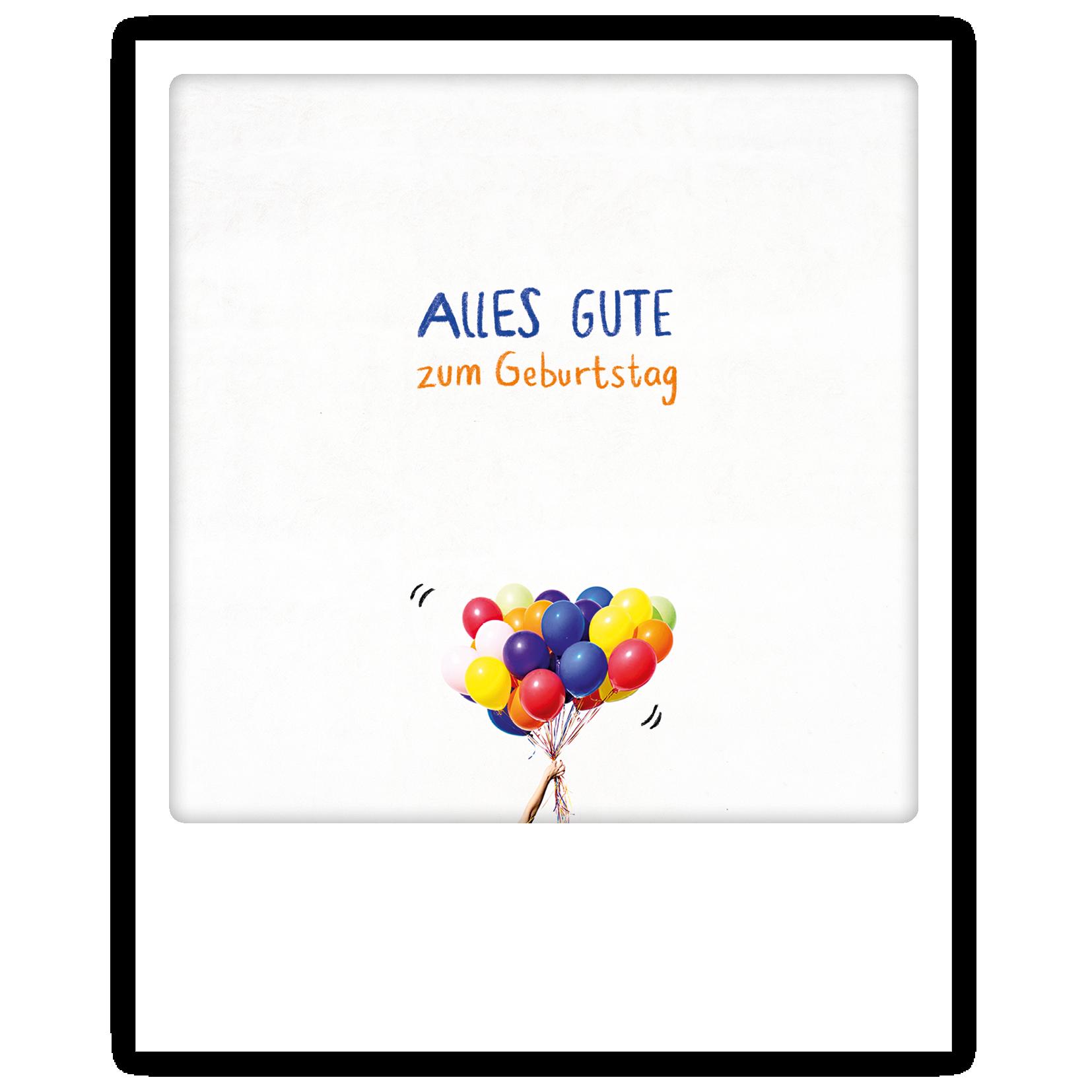 "Photo-Postkarte ""Alle Gute"" - ZG 0778 - DE - Pickmotion"