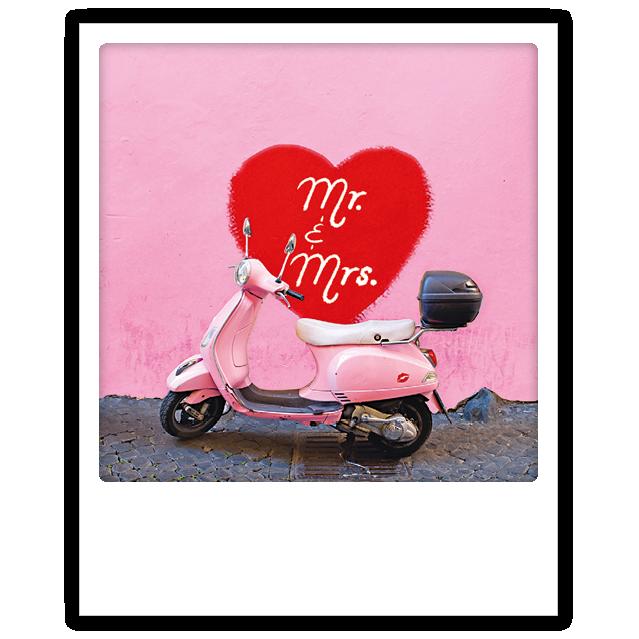 "Photo-Postkarte ""mr. and mrs."" - ZG 0698 - EN - Pickmotion"