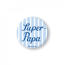 Button - Super-Papa - krima&isa