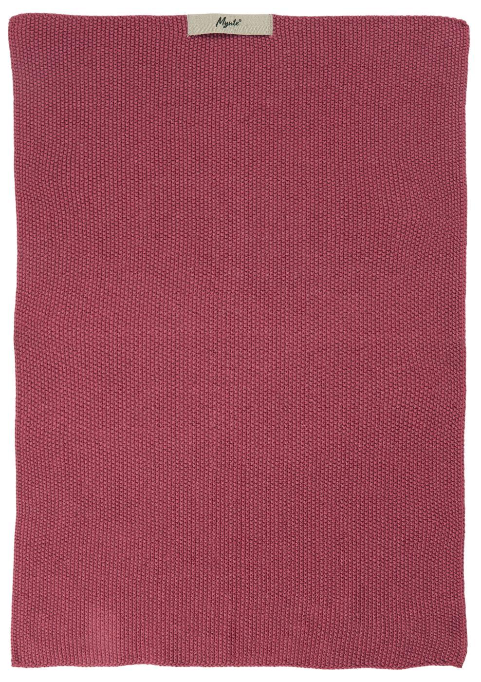 Handtuch - Mynte Blackberry Parfait gestrickt - IB Laursen
