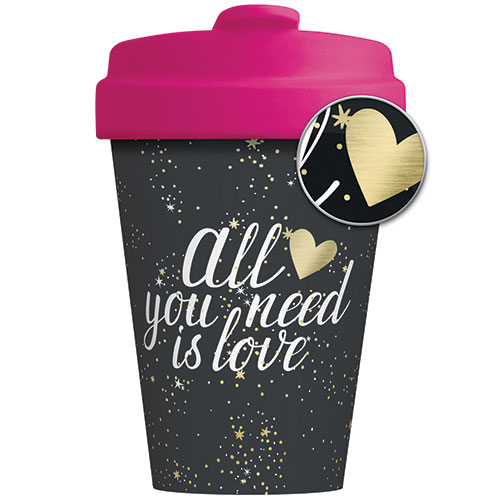 BambooCup - All You Need Is Love - chic.mic