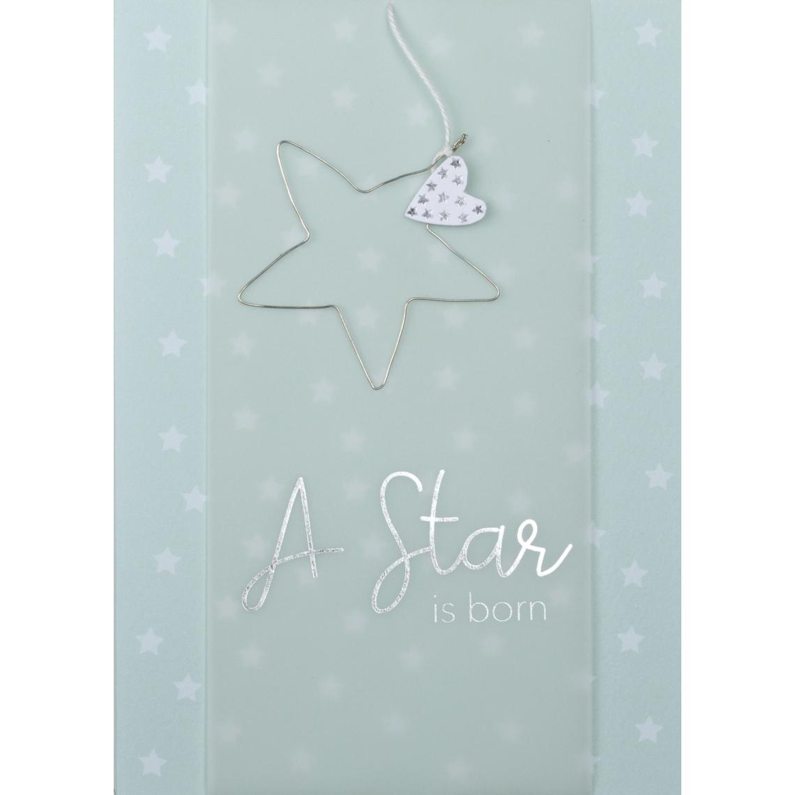 "Drahtkarte - "" a star is born"" - räder"