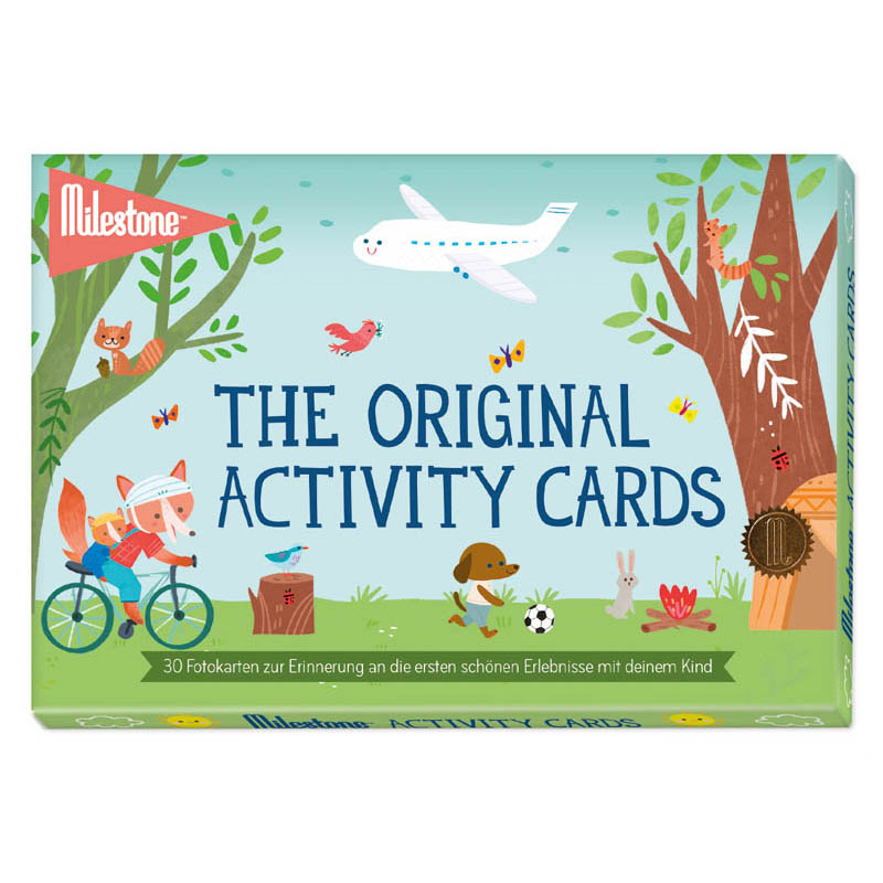The Original Activity Cards - Milestone