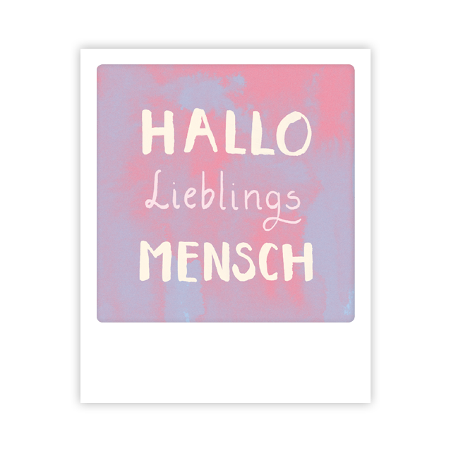 Kleine-Postkarte
