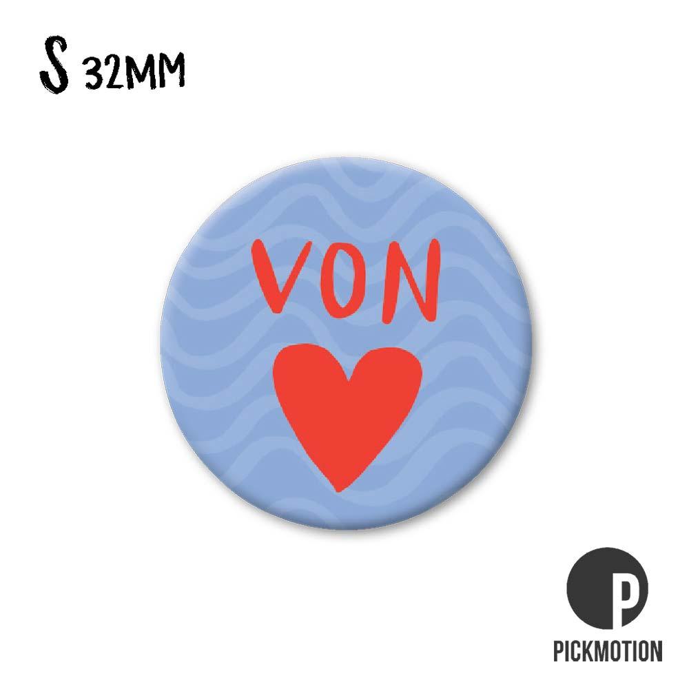 """Kühlschrank-Magnet - Klein - """"von Herzen"""" - MSQ 0206 - Pickmotion"""