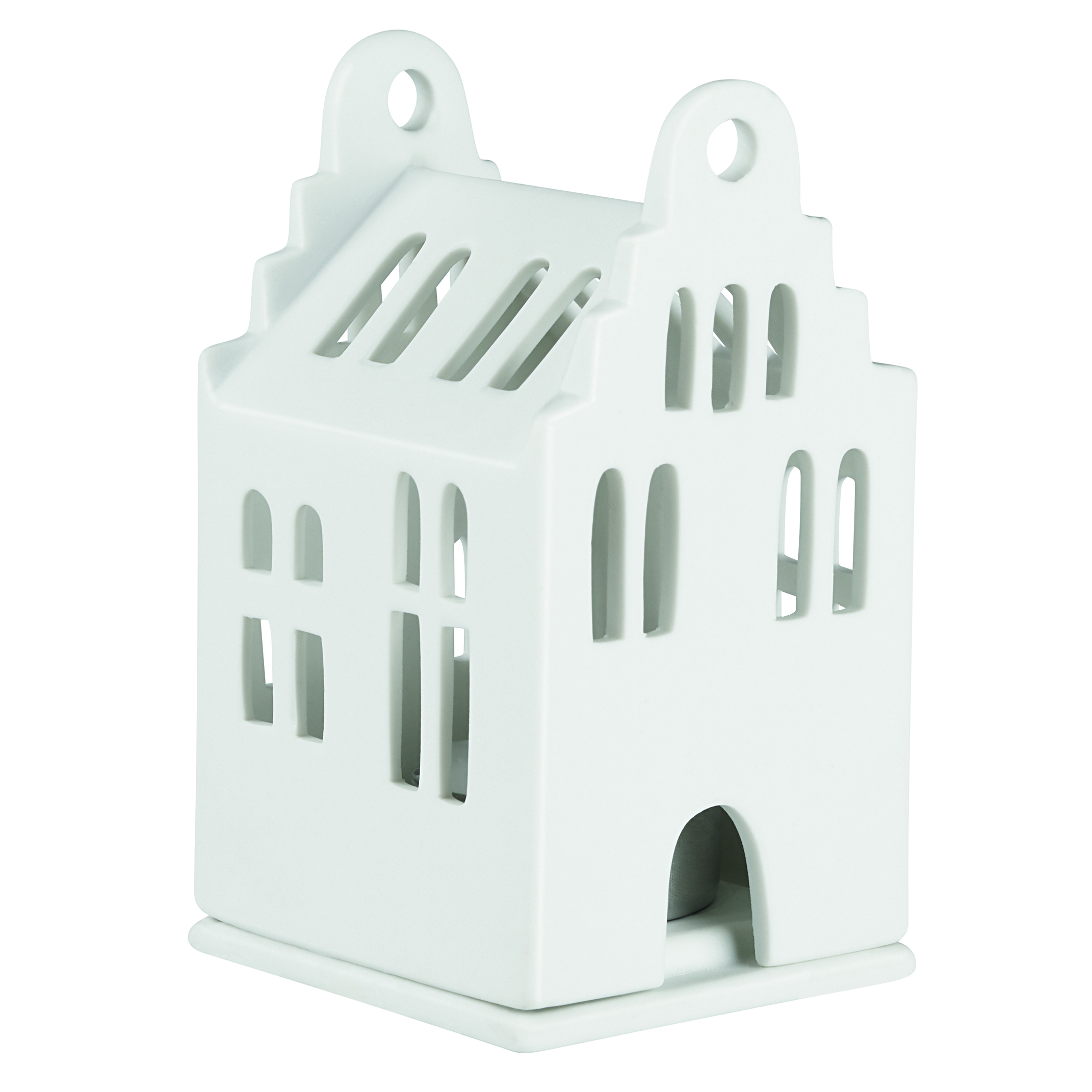 "Mini Lichthaus ""Giebelhaus"" - räder"