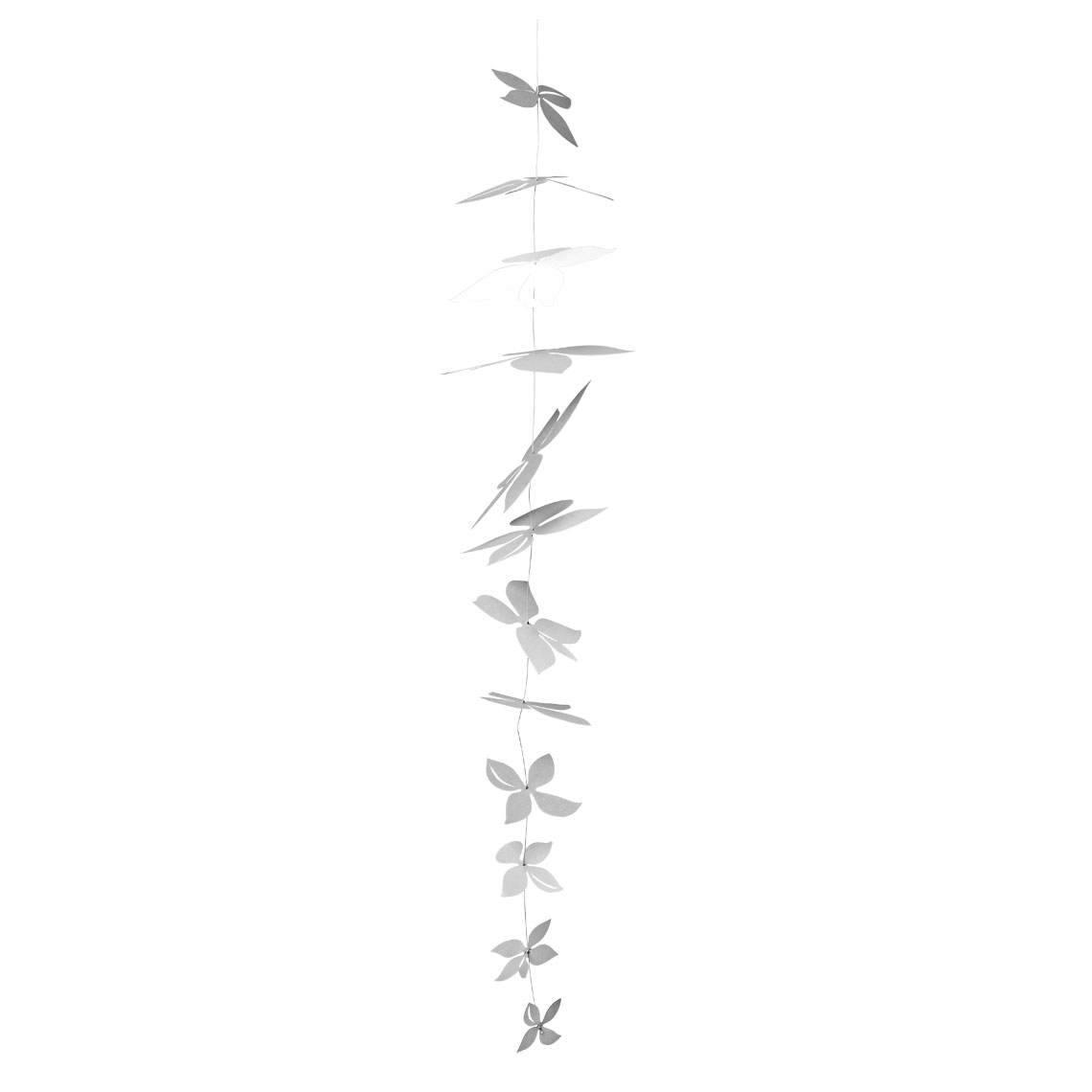 "Grey Blossom Kette ""Länge: 86cm"" - räder"