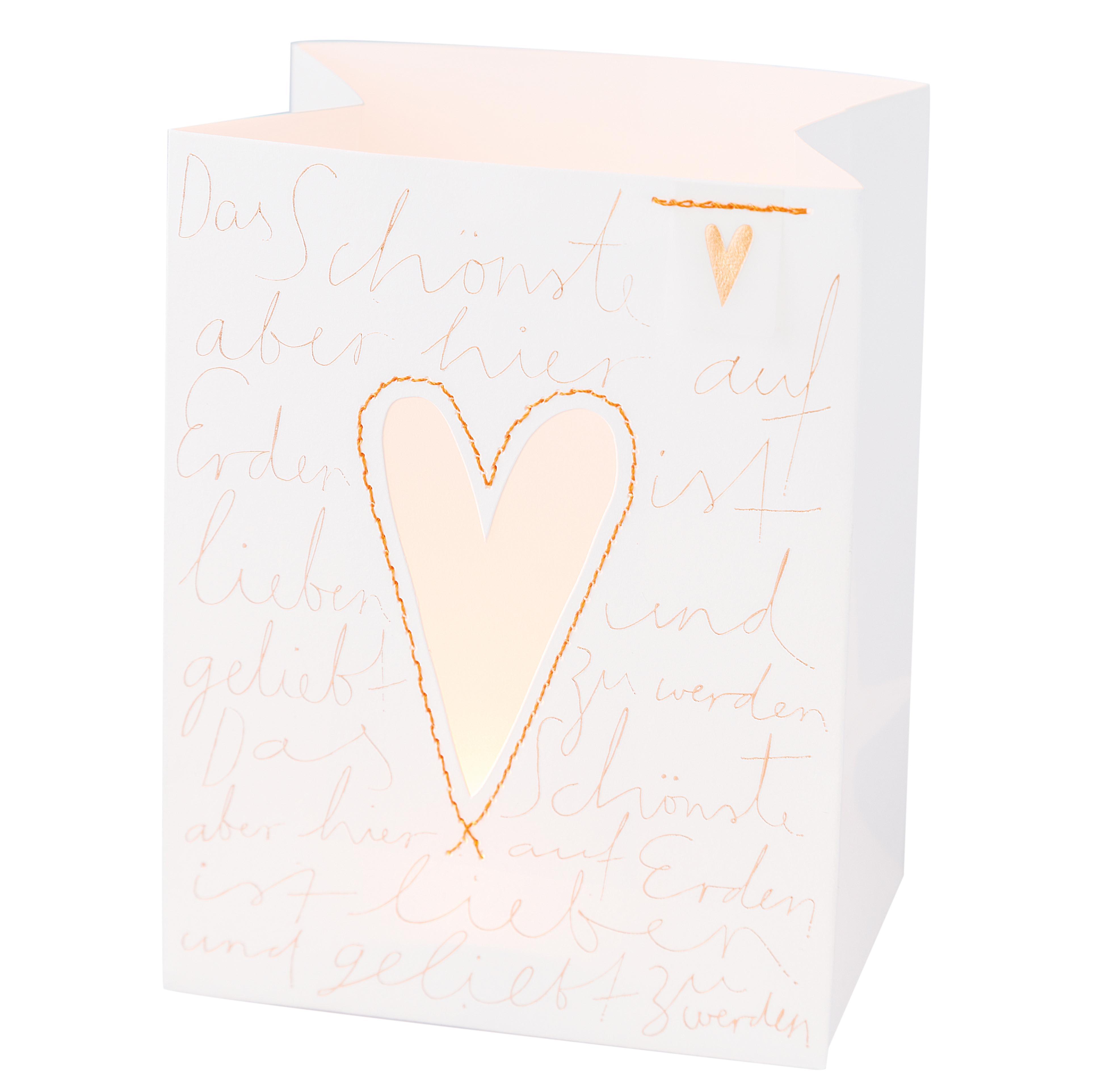 Lichttüte - Eine Tüte ... Liebe - räder
