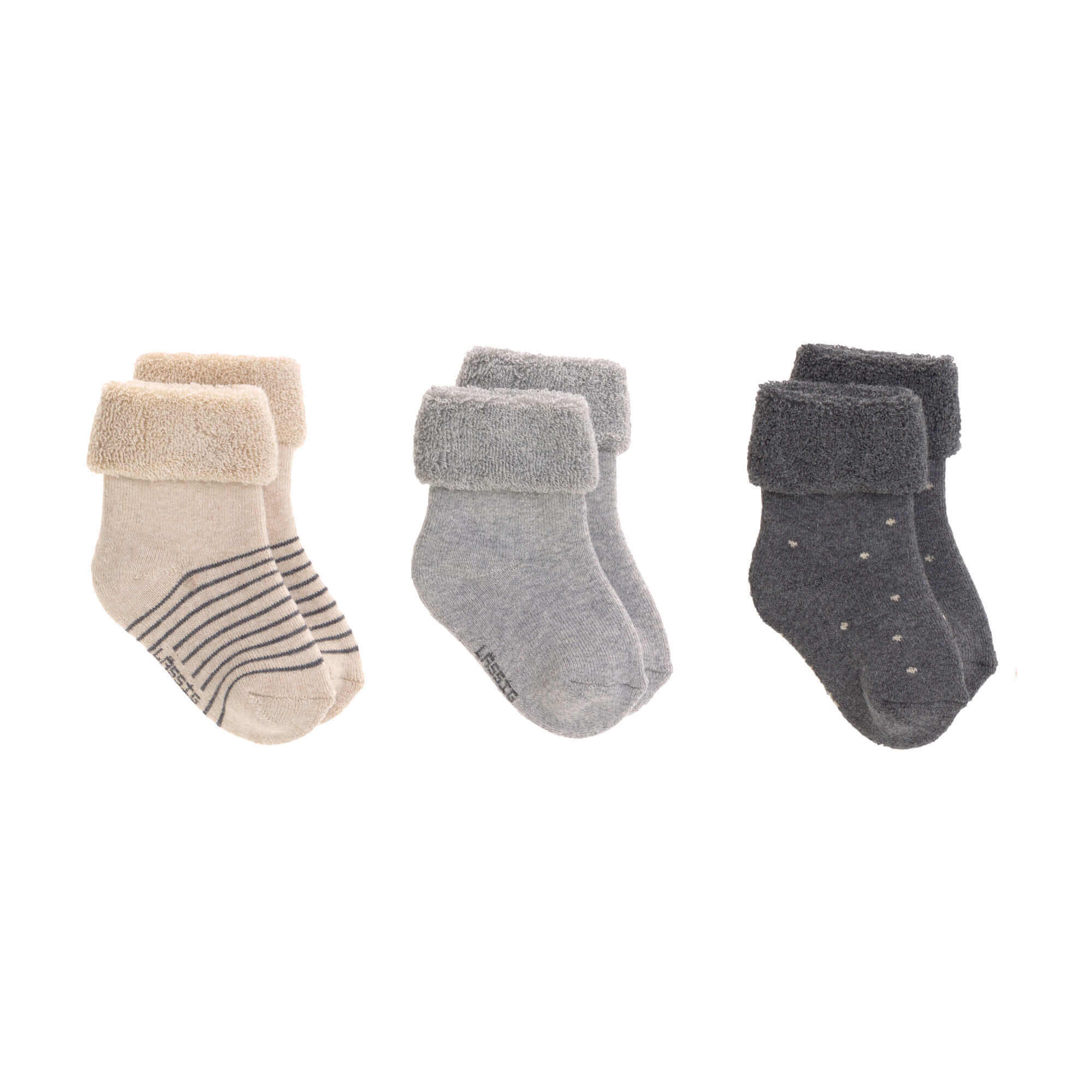 Babysocken (3er-Pack) - Grey - Lässig