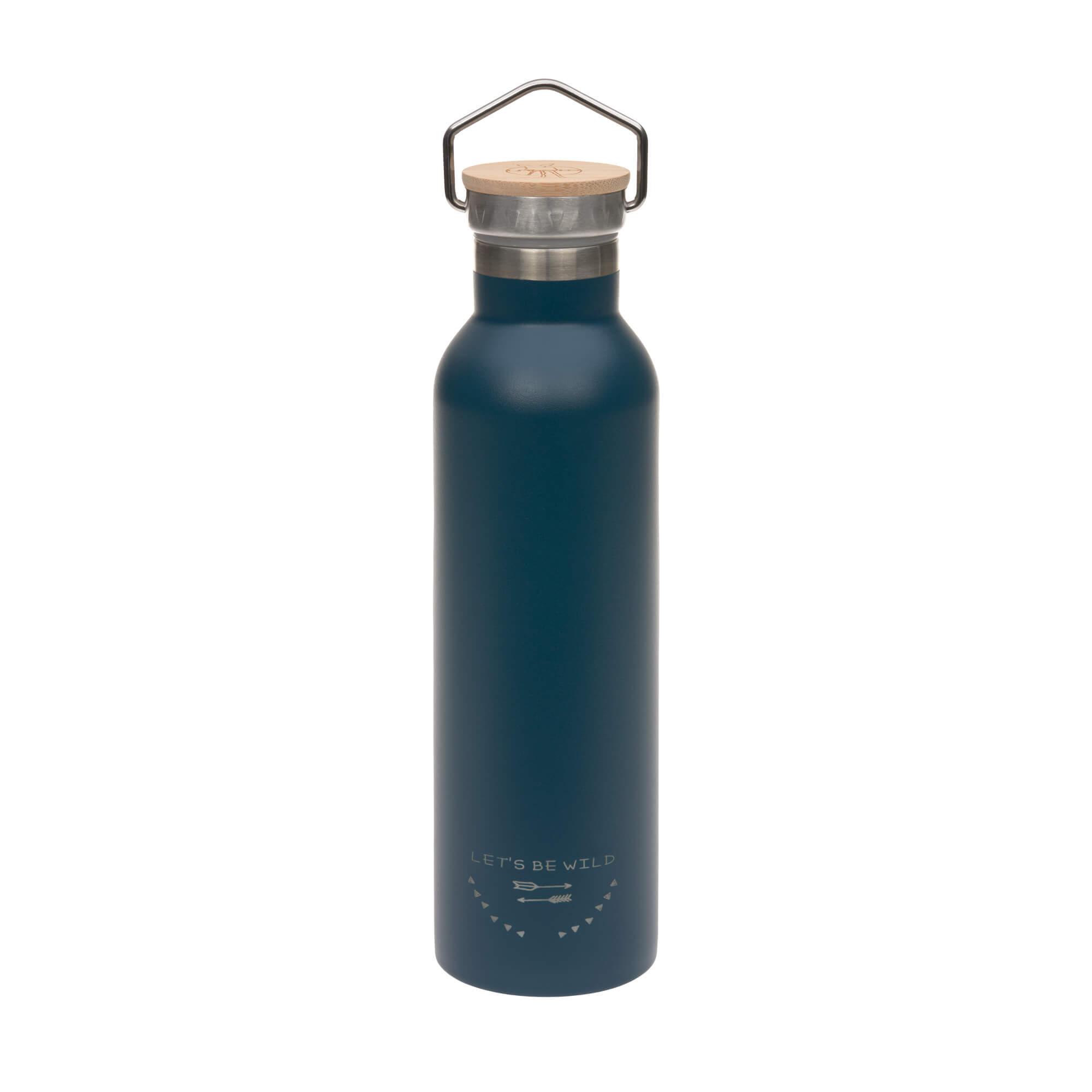 Kinder Trinkflasche Edelstahl (700 ml - Isoliert) - Adventure Blue - Lässig