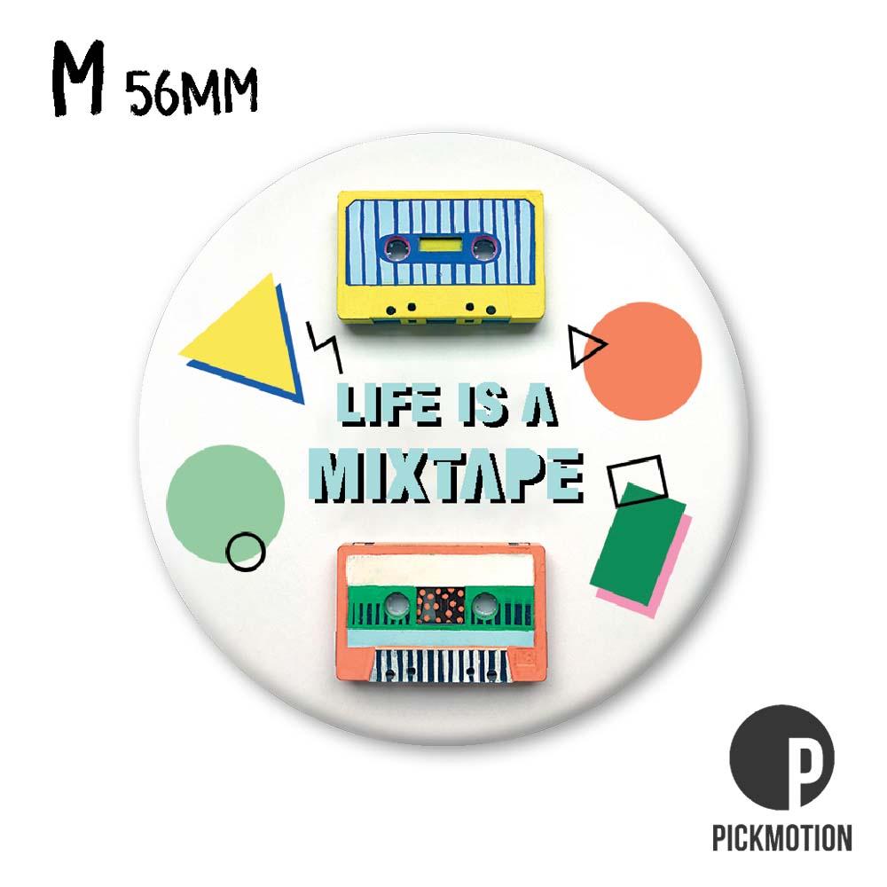 """Kühlschrank-Magnet - Medium - """"Mixtape"""" - MM 0492-EN - Pickmotion"""