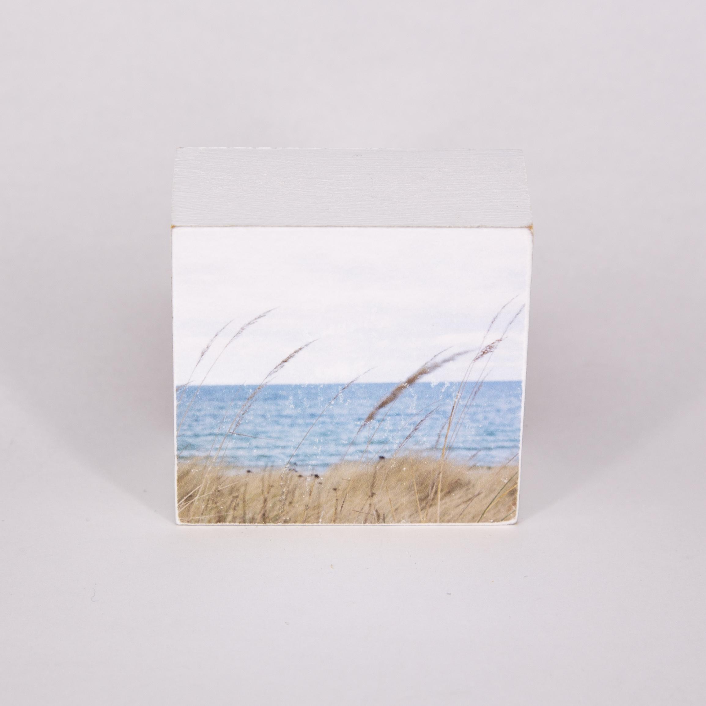 "Mini Fotoplatte - ""gras+meer""- iopla"