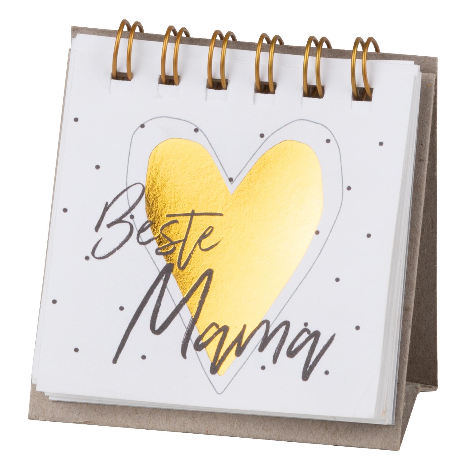 """Kleine Botschaften """"Beste Mama"""" - räder"""