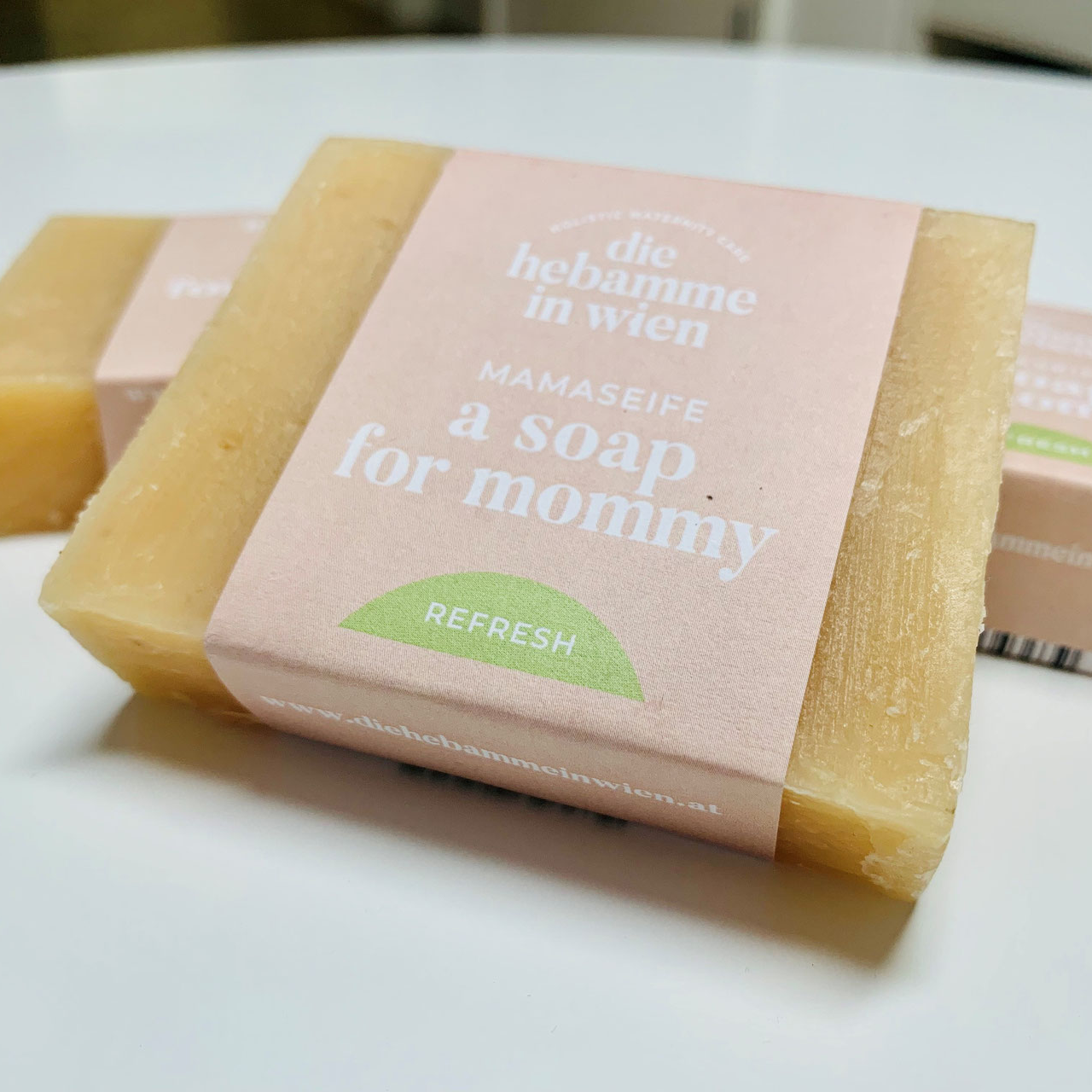 Mama-Seife - a soap for mummy  - Refresh - die Hebamme in Wien