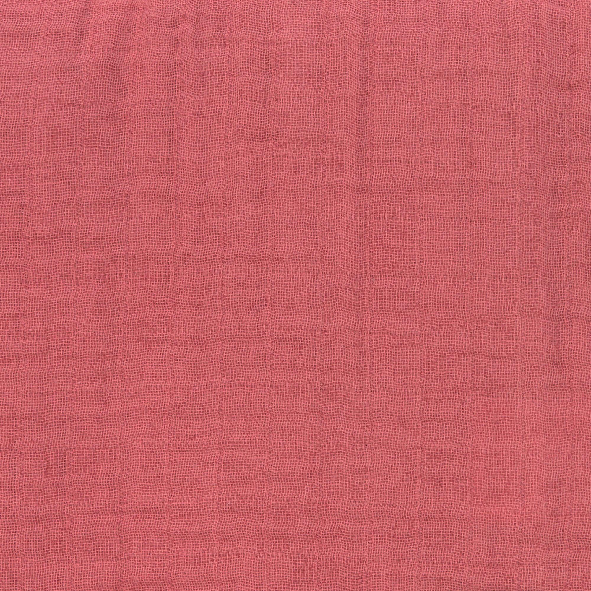 Stillschal Musselin - Rosewood - Lässig