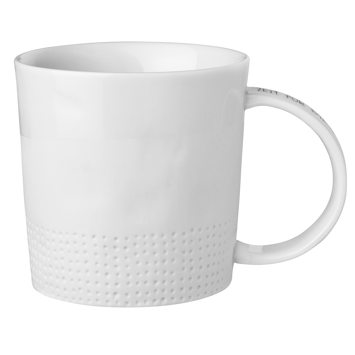 """Tasse mit Untertasse """"Zeit für mich Zeit für dich"""" - räder"""