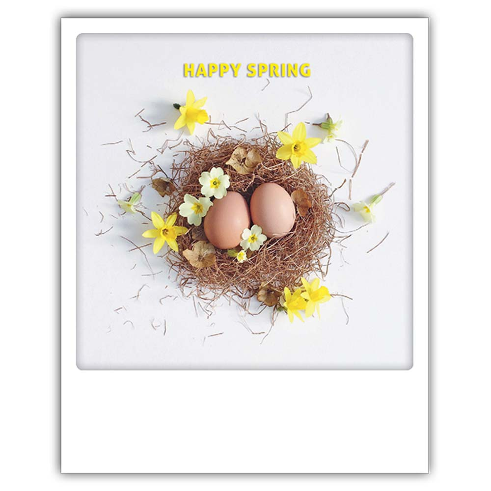 "Photo-Postkarte ""Happy Spring"" - ZG 0236 - DE - Pickmotion"