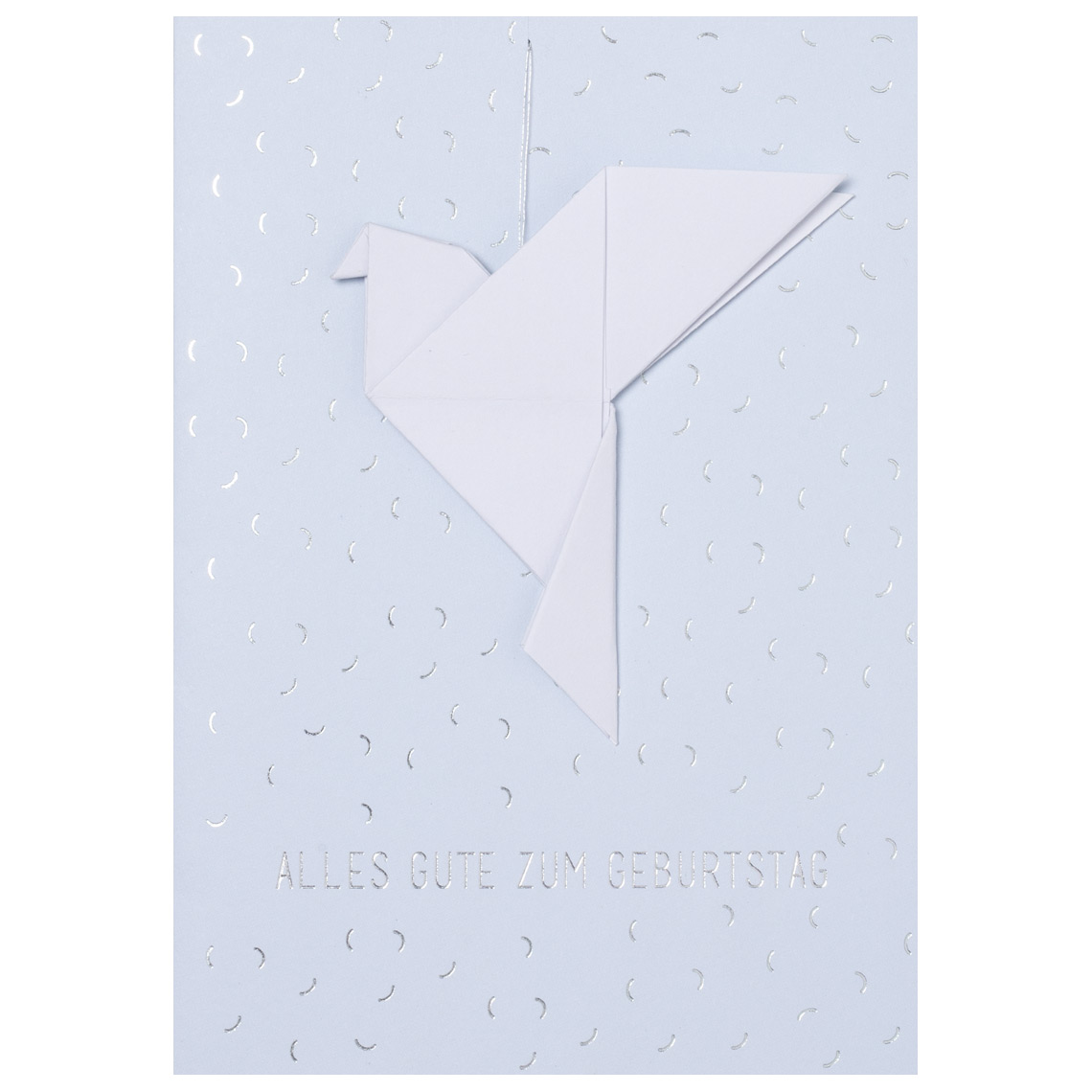 "Geburtstagskarte - ""Vogel"" - räder"