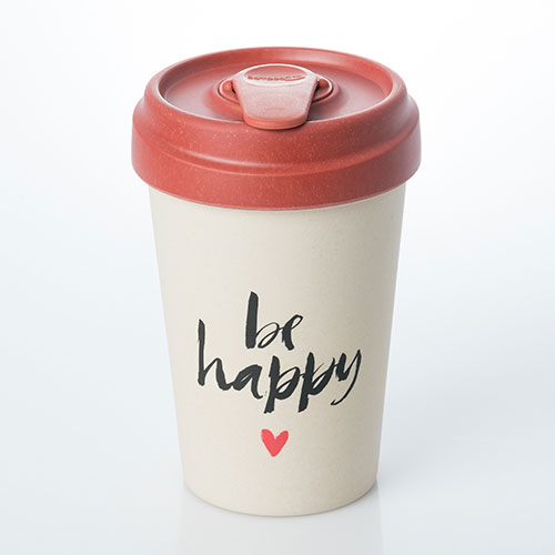 BambooCup - Happy Calligraphy - chic.mic