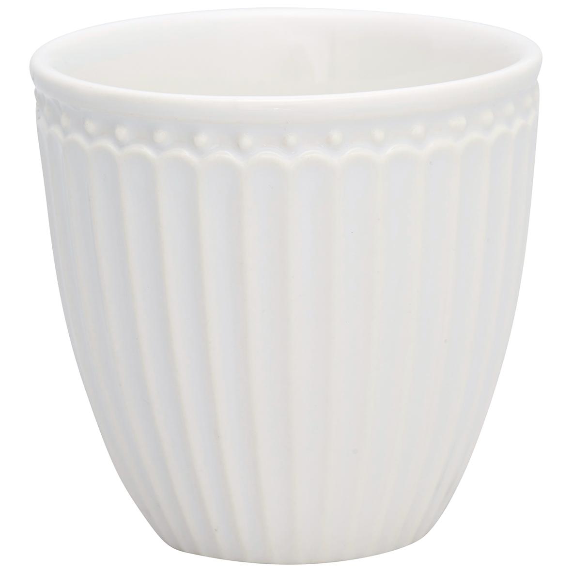 Espressotasse | Mini-Latte Cup - Alice white- Greengate