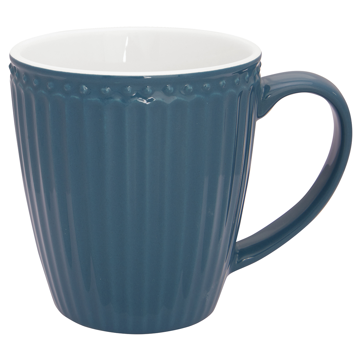 Becher mit Henkel - Alice ocean blue - Greengate