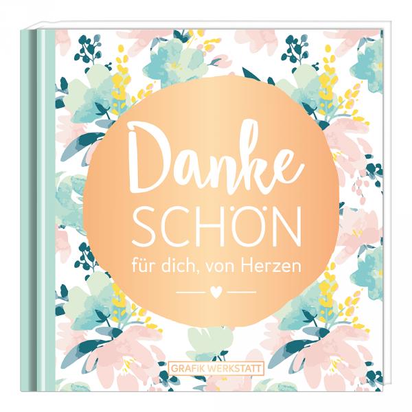 Mini-Geschenkbuch - Dankeschön  - Grafik Werkstatt