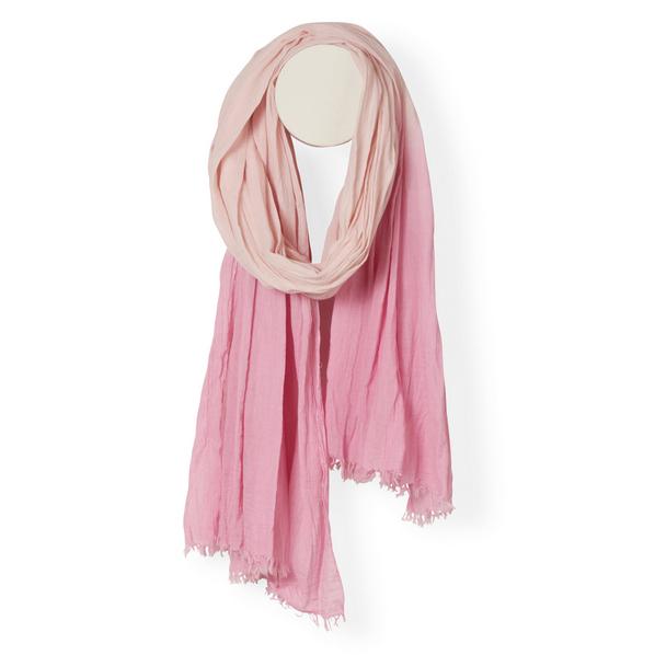 Halstuch | Schal - pink/rosa mit Farbverlauf - Yam Yam Fashion