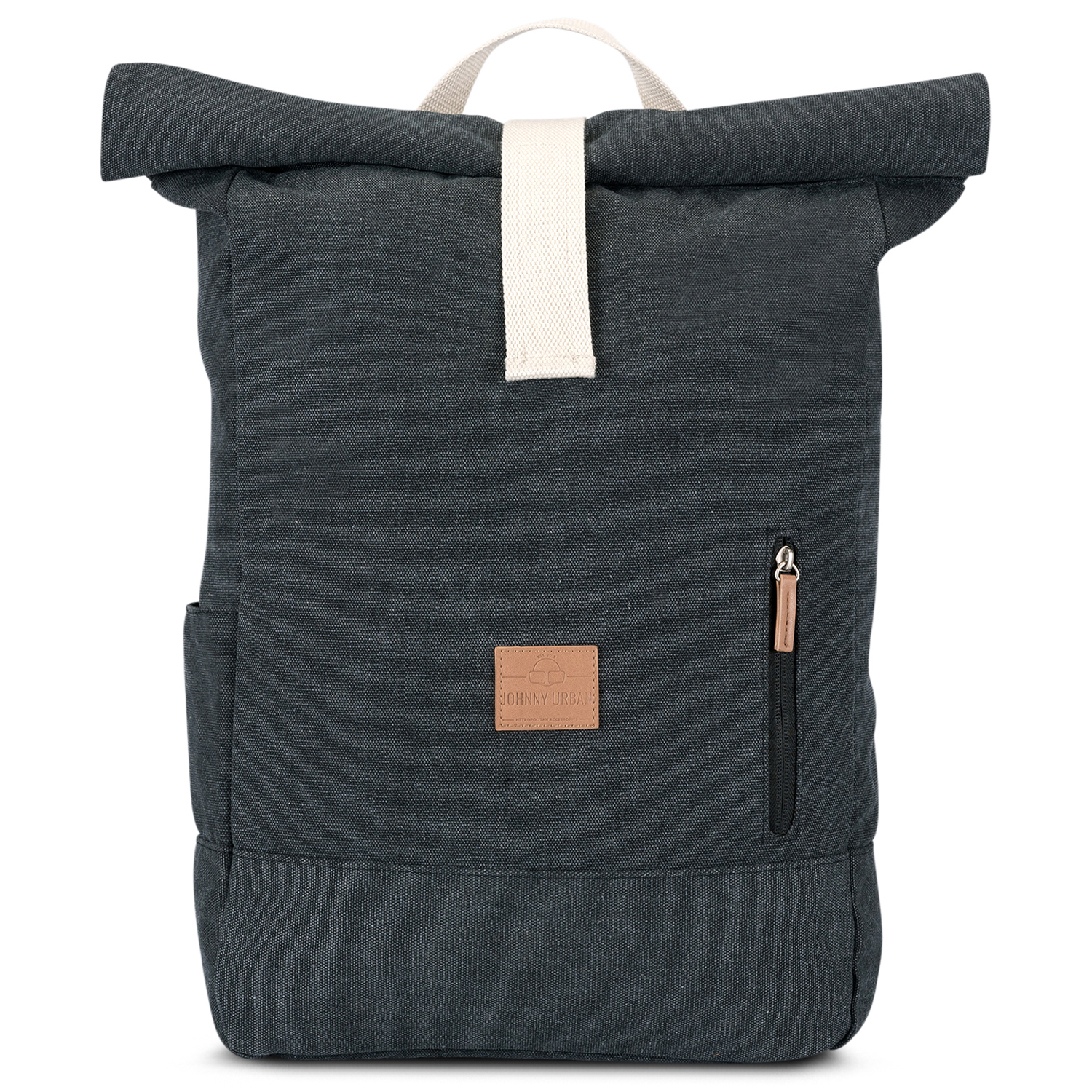 Rolltop Rucksack - Adam - anthrazit - Johnny Urban