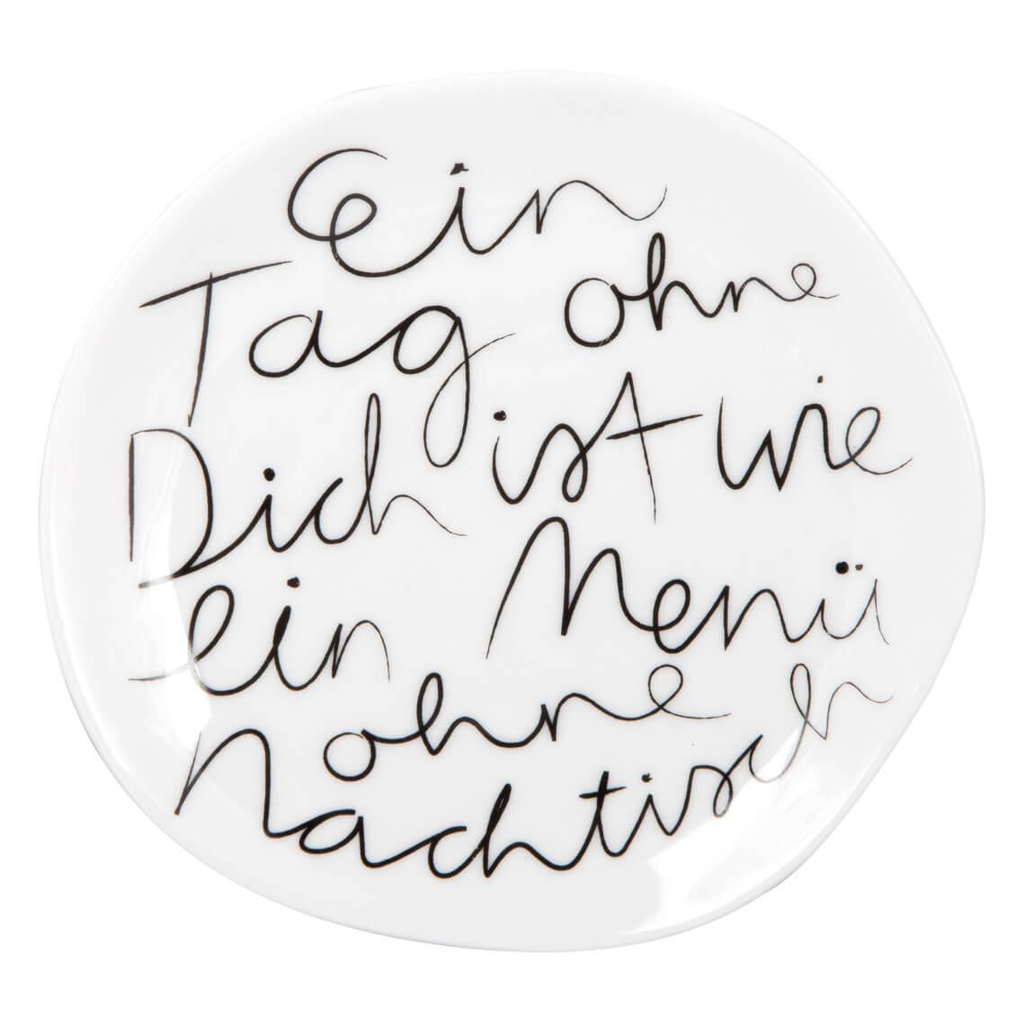 """Mix & Match. Teller """"Ein Tag ohne dich, klein"""" - räder"""