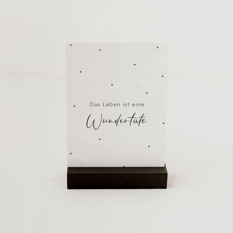 Postkarte - Wundertüte - Eulenschnitt