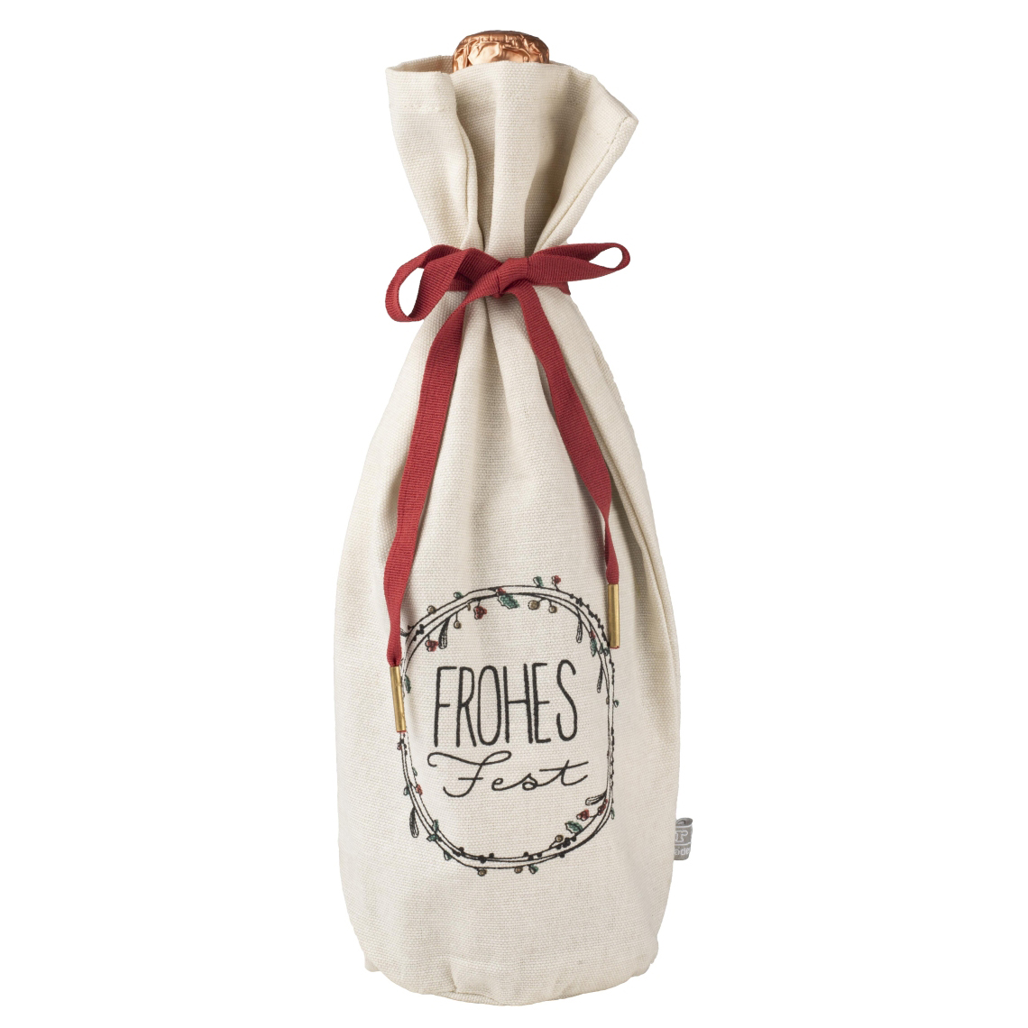 Flaschenhülle - Schöne Bescherung -