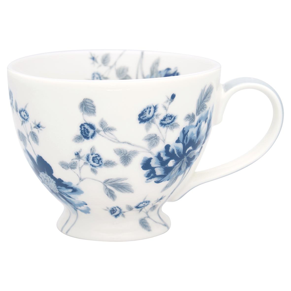 Teetasse mit Henkel - Charlotte white - Greengate