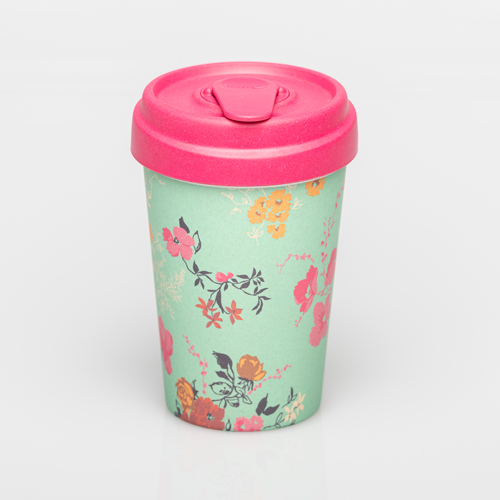 BambooCup - Flower Pattern - chic.mic