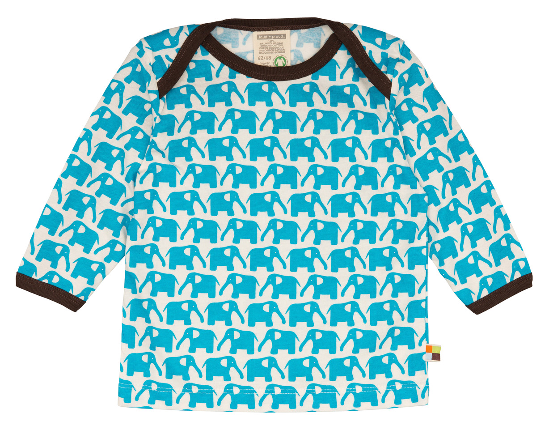 Langarm-Shirt - Aqua - Loud+Proud