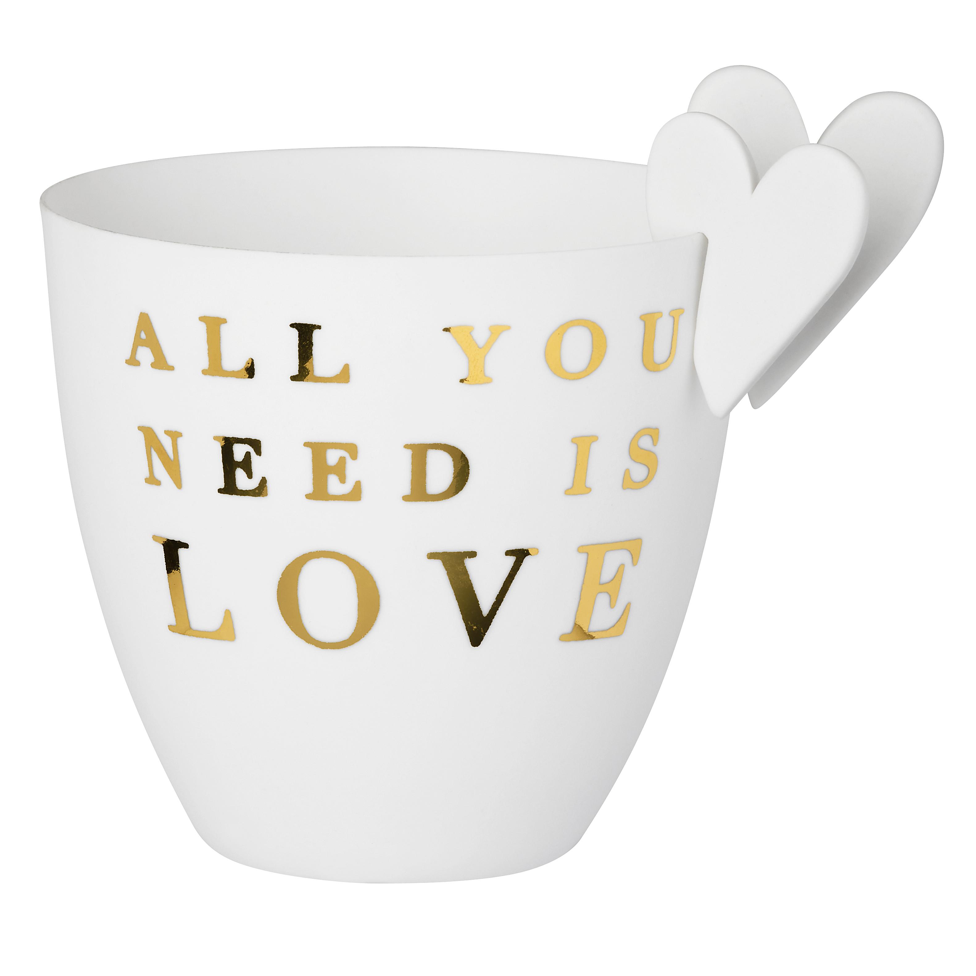 """Poesielicht """"All you need ist love"""" - räder"""