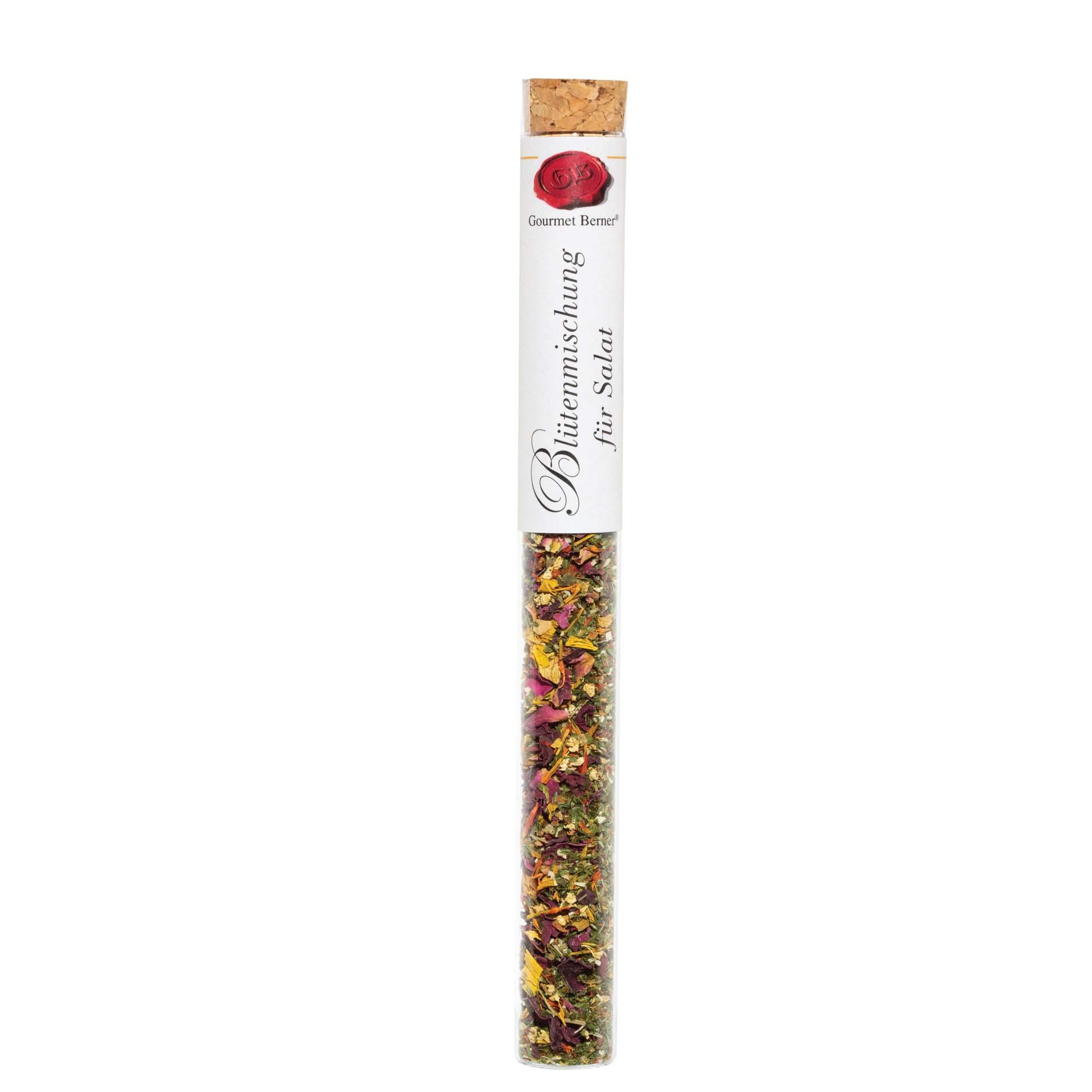 Gewürz in Vitro - Blütenmischung für Salat - Gourmet Berner