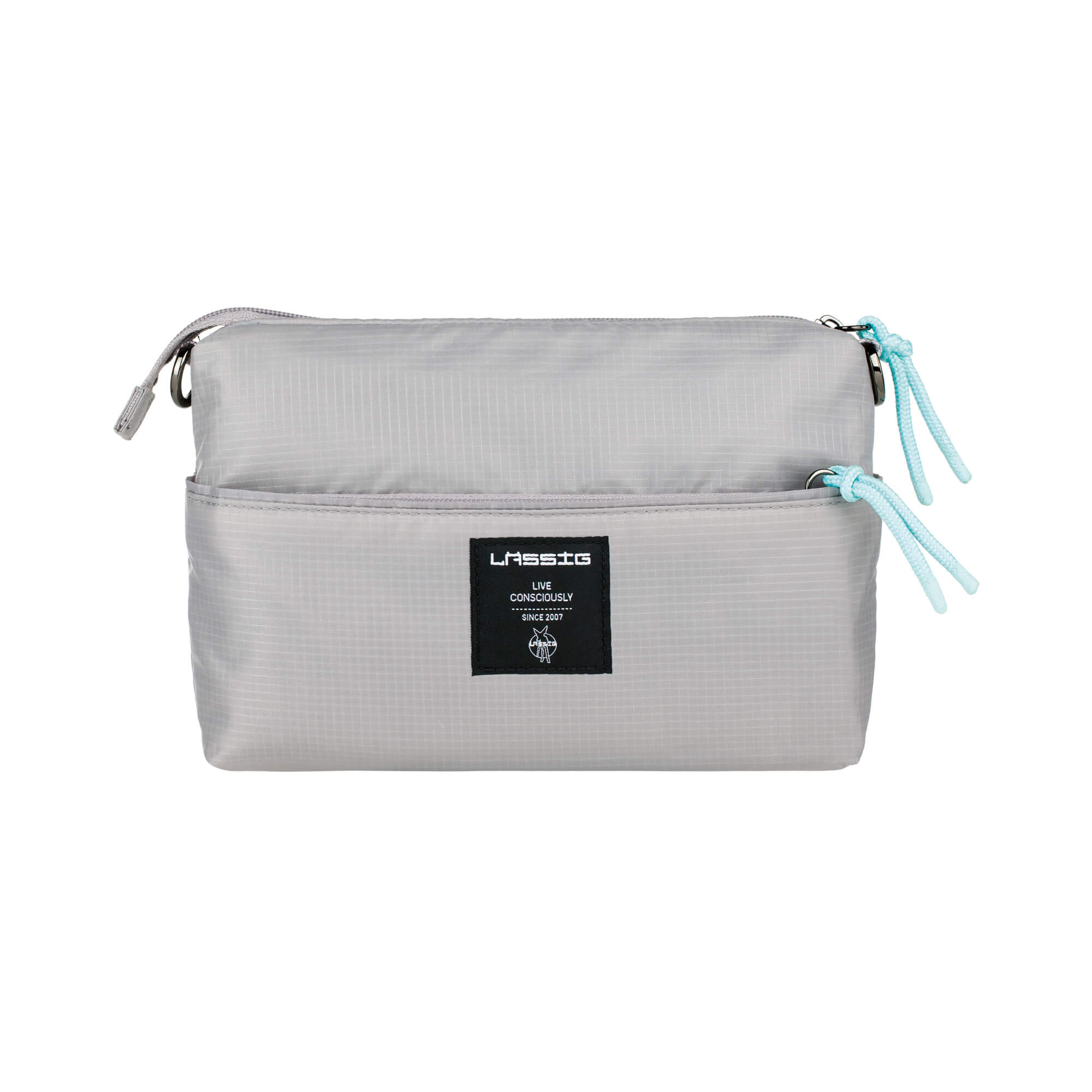 Windeltasche - Handtasche - Green Label Pouch POP - Grey - Lässig