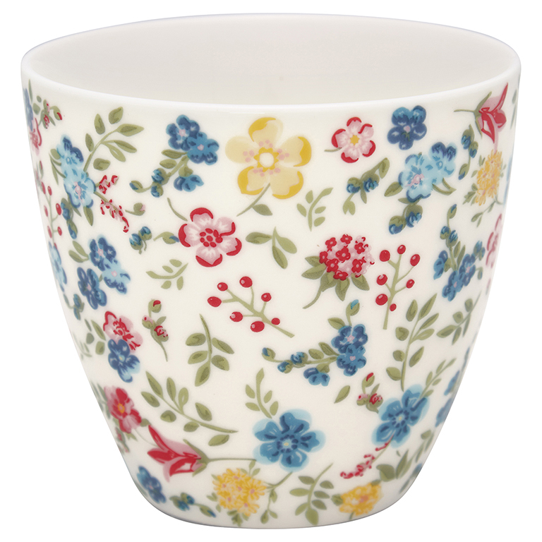 Latte Cup - Sophia white - Greengate