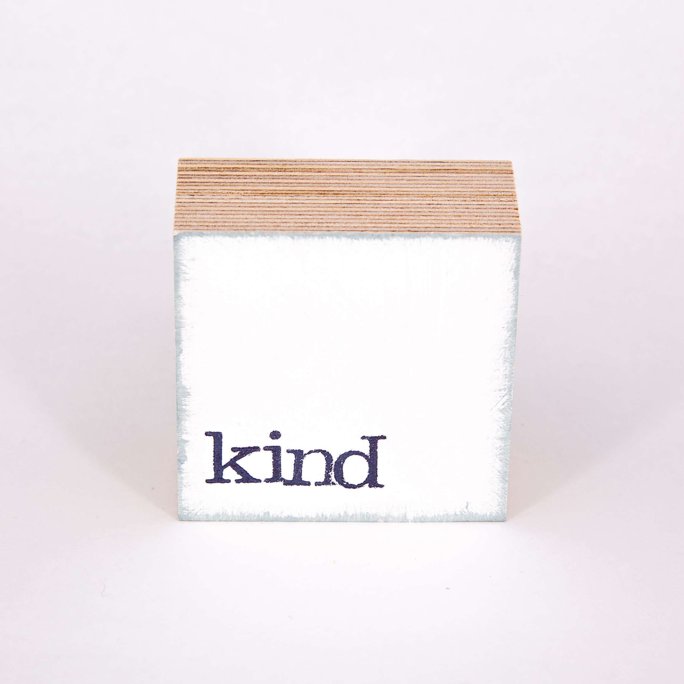 "Mini Textplatte - ""kind"" - iopla"